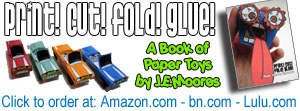 A Book of Paper Toys by J.E.Moores