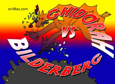 King Ghidorah VS Bilderberg